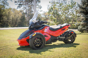2012 Canam Spyder RSS