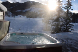 SKI TRIP? PANORAMA 4 BR CHALET, SKI IN/OUT PRIVATE HOT TUB!