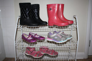Girls footwear... shoe size 2 US.. boots, shoes and sandals.