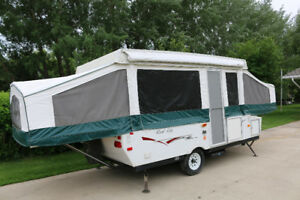 2008 Palomino 12 ft tent trailer
