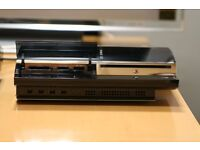 PLAYSTATION 3 FAT BACKWARDS COMPATABLE 160GB.GENUINE PAD, WIRES, BOXED.