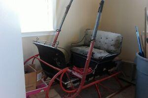 old Bridgewater sleigh