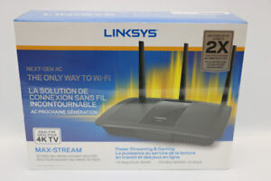 **SURF THE WEB** Linksys Max-Stream AC1900 Wi-Fi Router - 16717
