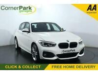 2017 BMW 1 Series 1.5 118I M SPORT 5d 134 BHP Hatchback Petrol Manual