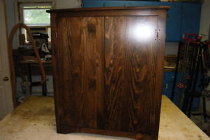 Two Door Custom Made Cabinet - Solid Wood