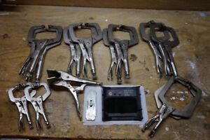 Welders Vice Grips & Speedglass