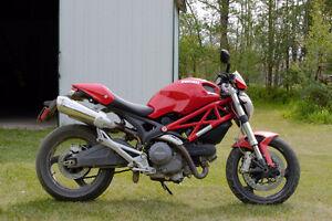 2009 Ducati Monster 696 with Full Termignoni Racing Kit