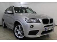 2013 63 BMW X3 2.0 XDRIVE20D M SPORT 5DR 181 BHP DIESEL