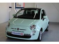 2014 FIAT 500 1.2 Lounge 3dr [Start Stop] Leather