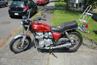 Honda CR650 Motorcycle - working condition