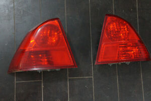 Set of 01- 2005 Civic Tail Lamps