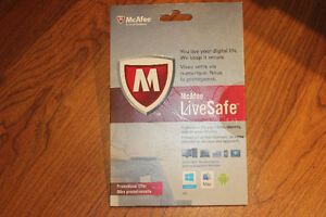 BINB MCAFEE LIVESAFE Unlimited Devices 1 Year