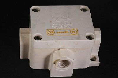 Old Distributor Socket Exposed with 4 Outlet Ex 380v Bunker Damp-Proof