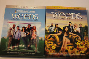Weeds DVDs Seasons 1 & 2