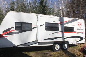 26 foot ultra lite slide trailer