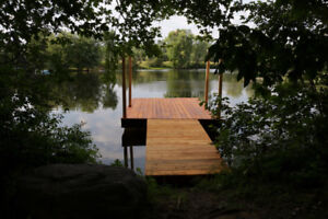 Waterfront 2 bdr cottage available this Saturday