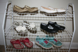 Girls footwear...shoe size 13 US..dress shoes, runners & sandals