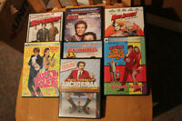 SEVEN COMEDY DVD'S, EXCELLENT CONDITION