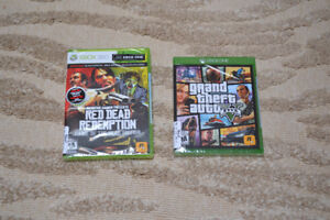 GTA 5 Xbox One + Red Dead Redemption Xbox 360, BRAND NEW !!!!!
