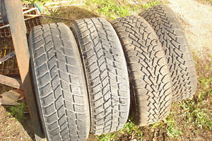 Mazda 15 rims and snow tires will fit import cars also Kitchener / Waterloo Kitchener Area image 2