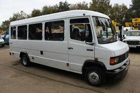 Mercedes Benz 609 20 Seater Minibus Coach Welfare Bus Air Con - Low Mileage