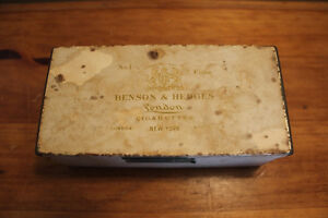Old Benson & Hedges Cigarette Tin London Ontario image 2