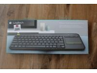 BRAND NEW Logitech Wireless Touch Keyboard K400 Plus for PC, Laptop, and TV