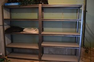 4 heavy duty shelving units perfect for garage or shed Kawartha Lakes Peterborough Area image 1