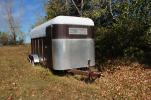 used horse trailer for sale priced to go
