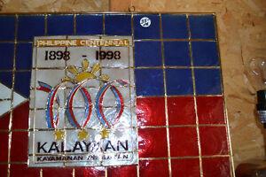 SIGN / WALL HANGER Celebrating 100 years PHILIPPINES 1898 - 1998 Windsor Region Ontario image 2