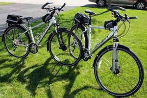 His & Hers TWO bikes, Giant Roam XT drivetrain top line, MINT