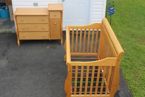 3 and 1 Crib (SIMPLICITY MODEL # 8676NC)