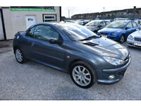 Peugeot 206 2.0 16v 2005MY Coupe Cabriolet Allure