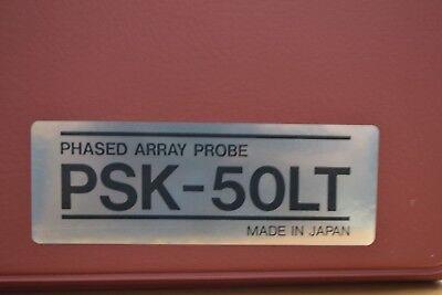 Toshiba Psk-50lt 5mhz Ultrasonic Sector Transducer Probe For Cardiac