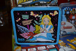 Various Tin Lunch Boxes ~ Transformers, Tinkerbell, Avenger etc. Windsor Region Ontario image 1