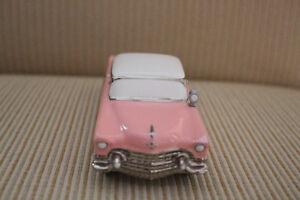 Departement 56 Cadillac Rose Pink Cadillac Elvis Presley