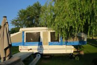 12ft flagstaff tent trailer
