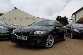 2014 14 BMW 5 SERIES 2.0 520D M SPORT 4D AUTO 181 BHP DIESEL - RAC DEALER