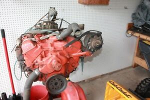 283 Chevy engine complete.