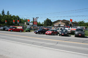PRIME commercial lot available July 1st. Ideal for car lot!