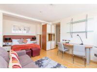 Studio flat in Roland House Old Brompton Road, Kensington, SW7