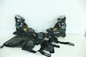 Rollerblade et protection