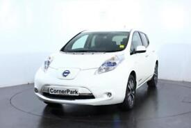 2015 NISSAN LEAF TEKNA HATCHBACK ELECTRIC