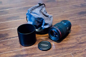 Canon 100mm 2.8L Macro IS USM Lens: $750
