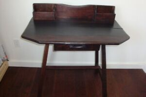 Refurbished Antique Rattan Co. Imperial Loyalist Desk