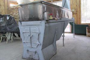 Évaporateur (Bouilleuse) au bois 2' x 8'
