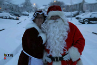 Santa and Mrs Claus for Hire