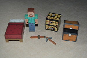 2 Minecraft Figure Sets-  $20 each, or both for $35
