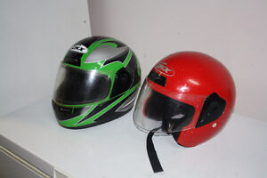 2 helmets $30 for them both