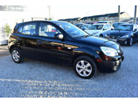 Kia Rio 1.4 5 DOOR BLACK 2010 MODEL +BEAUTIFUL THROUGHOUT+